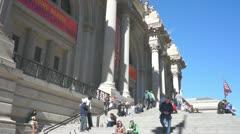 Metropolitan Museum of Art Stock Footage
