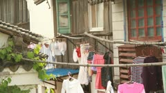 Life Style and Traditional house by the river in Zhujiajiao, China Stock Footage