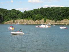 Motorized Boats - stock photo
