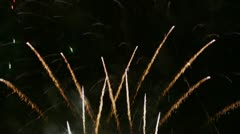 Fireworks Spectacular! Stock Footage