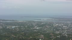View of Cebu city, Philippines Stock Footage