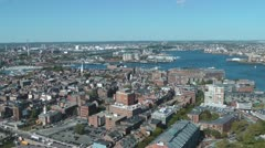 Boston North End District Stock Footage