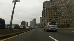 FDR Drive Southbound - 23rd Street - stock footage