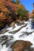Ryuzu Waterfall - stock photo