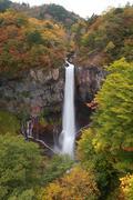 Kegon Waterfall - stock photo
