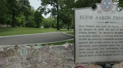 Elvis Graceland Stock Footage
