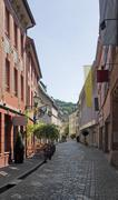 Stock Photo of freiburg im breisgau street scenery