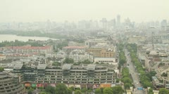 City of Hangzhou, China Stock Footage