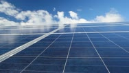 Stock Video Footage of Solar photovoltaics panels