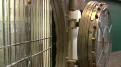 Bank Vault Stock Footage