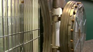 Stock Video Footage of Bank Vault