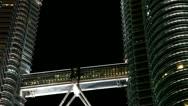 Petronas Towers Kuala Lumpur Stock Footage
