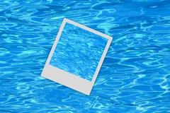 Water blue background snapshot Stock Photos