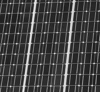 Solar panel closeup Stock Photos