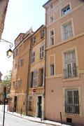street in aix-en-provence - stock photo