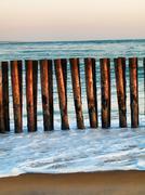 beach  shore - stock photo