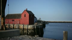 rockport motif #1 front angle - stock footage