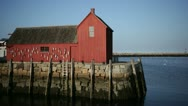 Stock Video Footage of rockport motif #1 side view