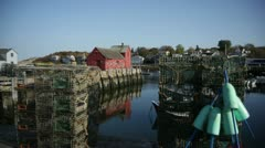 Rockport motif #1 back wide Stock Footage