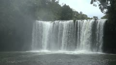 Laos bolaven waterfall Stock Footage