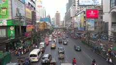 Thailand bangkok traffic 3 Stock Footage