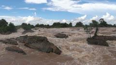 Laos siphandon li phi Stock Footage