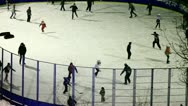 Stock Video Footage of Ice skating.