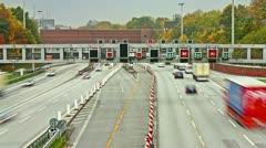 Stock Video Footage of Autobahn Timelpase 02