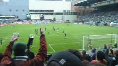 Portland MLS Soccer Match Stock Footage