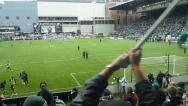 Stock Video Footage of Portland MLS Soccer Cheer
