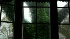 Bay Window Storm Stock Footage