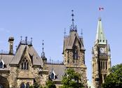 Stock Photo of ottawa parliament