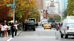 NYC Time Lapse 6th Ave. Bleecker Stock Footage