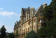 Stock Photo of manorial building in oxford