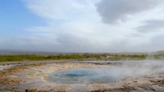 Stock Video Footage of Geyser, Iceland. Geysir