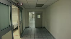 Stock Video Footage of Hospital corridor