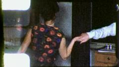 Drunk Couple Swing DANCING Dance Romance 1960s Vintage Film Home Movie 5362 Stock Footage