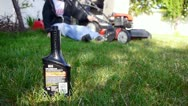 Lawn mow 3 Stock Footage