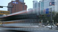 Seoul City Center, Central Area Road, Skyscrapers, Asia, South Korea, time lapse Stock Footage