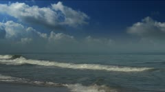 Tidal waves Stock Footage