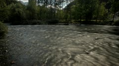 River timelapse HDR - stock footage