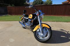 honda valkyrie motorcycle 1 - stock photo