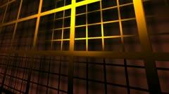 infinite grid - stock footage