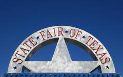 state fair of texas sign - stock photo