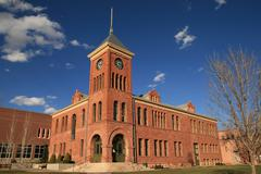 Oldl flagstaff courthouse Stock Photos