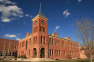Stock Photo of oldl flagstaff courthouse