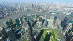 "4K: Shanghai, China, Time Lapse..>>> Please search: "" ShanghaiSkyline "" . Stock Footage"