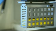 Medical equipment in the laboratory 2 Stock Footage
