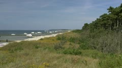 Hiddensee Island - Baltic Sea, Northern Germany Stock Footage