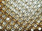 Shiny metallic background Stock Photos